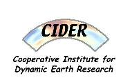 CIDER: Cooperative Institute for Dynamic Earth Research